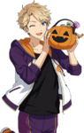 (Trick or Treat) Arashi Narukami Full Render Bloomed
