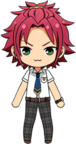 Mao Isara Summer Uniform chibi