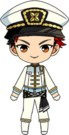 Tetora Nagumo PiratesFes uniform chibi