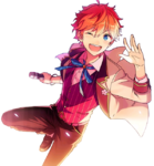 (Sakura-colored Spring Breeze) Subaru Akehoshi Full Render Bloomed
