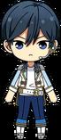 Hokuto Hidaka 2nd DDD chibi