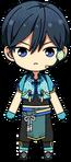 Hokuto Hidaka Tanabata Outfit chibi