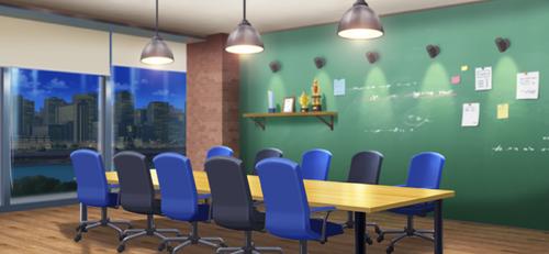 Meeting Room (Night - Bright) Full