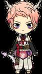 Shu Itsuki Zodiac Dragon chibi