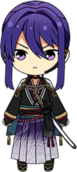 Souma Kanzaki Scroll of the Elements chibi