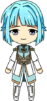 Hajime Shino Priest chibi