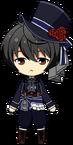 Ritsu Sakuma Halloween uniform chibi