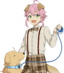 (Egoistic Golden Retriever) Tori Himemiya Full Render Bloomed