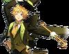 (Energetic Magician) Sora Harukawa Full Render Bloomed