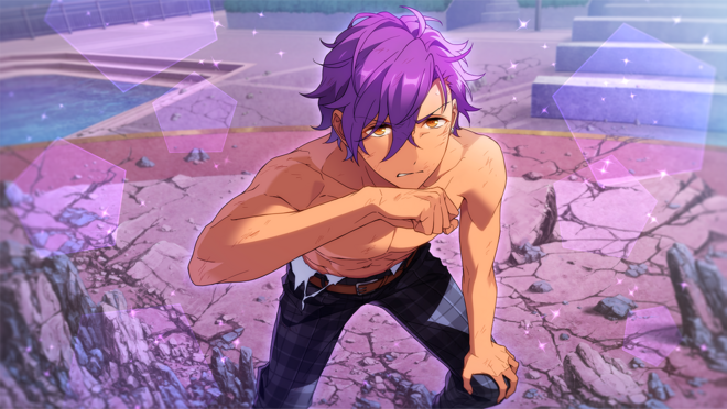 (Strong-Hearted Star) Adonis Otogari CG