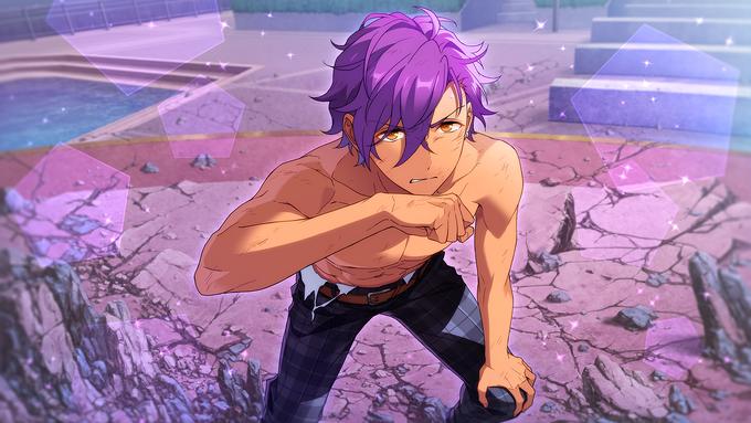 (Strong-Hearted Star) Adonis Otogari CG
