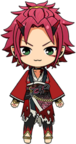 Mao Isara Onibi Outfit chibi