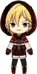 Nazuna Nito Red Riding Hood chibi