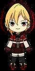 Nazuna Nito Red Riding Hood chibi