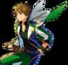 (Green Shooting Star) Midori Takamine Full Render Bloomed