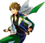 (Green Shooting Star) Midori Takamine Full Render Bloomed