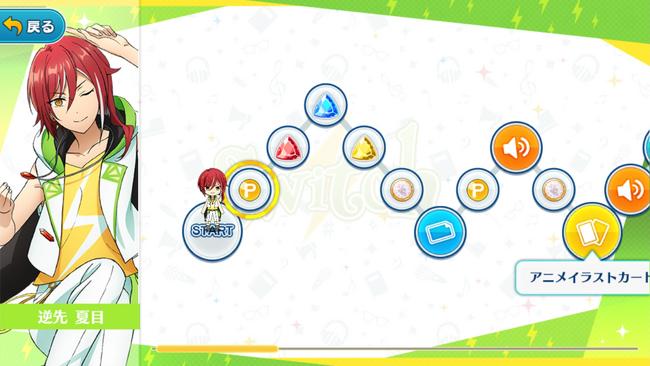 (Switch's Secrecy) Natsume Sakasaki Growth Map