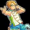 (Summer Step) Makoto Yuuki Full Render Bloomed