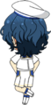 Tsumugi Aoba Blue Filament chibi back