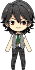 Rei Sakuma Summer Uniform (Wet) chibi