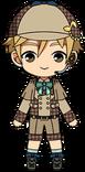 Tomoya Mashiro Detective Chibi