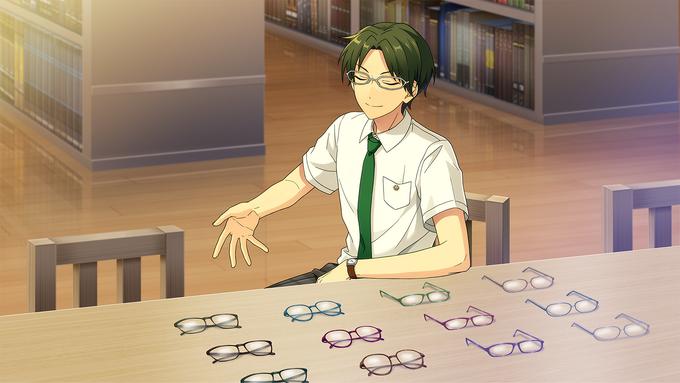 (Librarian) Keito Hasumi CG