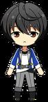 Ritsu Sakuma academy idol uniform chibi