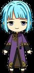 Hajime Shino Black Tea Outfit chibi
