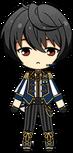 Ritsu Sakuma ES Knights Uniform chibi