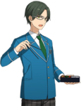 (Bento) Keito Hasumi Full Render Bloomed