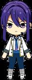 Souma Kanzaki ES Idol Uniform chibi