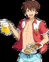 (Sea Service) Chiaki Morisawa Full Render Bloomed