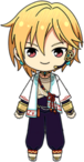 Nazuna Nito Summer Night Festival chibi