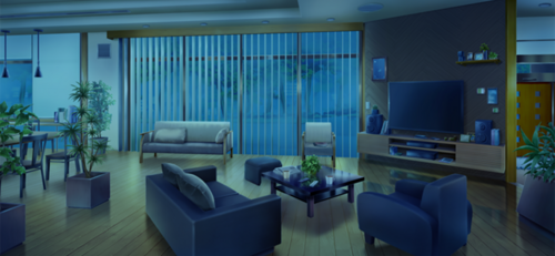 Seisou Hall Common Room (Night - Dark) Full
