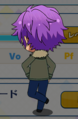 Adonis Otogari Casual Winter Chibi Back