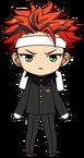 Kuro Kiryu Gakuran Uniform chibi