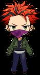 Kuro Kiryu Seinen Comic Outfit chibi