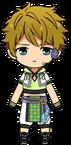 Midori Takamine Tanabata Outfit chibi