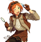 (Retro Discovery) Yuta Aoi Full Render Bloomed
