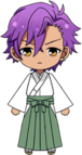 Adonis Otogari Shrine Outfit chibi