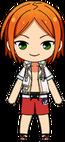 Hinata Aoi Pool Event Outfit chibi