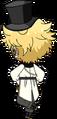 Sora Harukawa Wonder Game chibi back