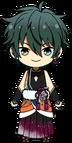 Mika Kagehira First Dream Outfit chibi