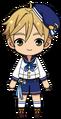 Tomoya Mashiro Rabbits uniform chibi