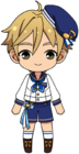 Tomoya Mashiro Rabbits uniform chibi