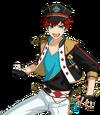 (ES Idol) Hiiro Amagi Full Render Bloomed
