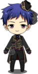 Yuzuru Fushimi Noble's Formal Attire chibi