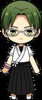 Keito Hasumi Archery Uniform chibi