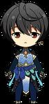 Ritsu Sakuma Butterfly Outfit chibi