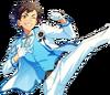 (3rd Anniversary) Tetora Nagumo Full Render Bloomed